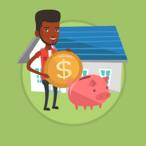 Piggy Bank in Front of House - Making Money from Your House