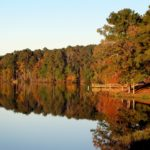 Fall Colours on a Lake