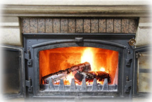 Selling your home in the winter - fireplace